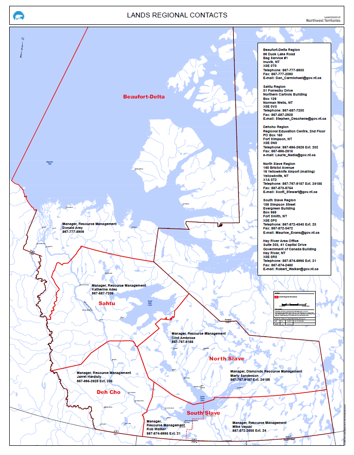 This map demonstrates all the active authorizations at the Mackenzie Valley Land and Water Board in the Northwest Territories. The numbers on the map is associated with the IDs in the table.  This map is for illustrative purposes only. This is not a legal document, and should not be treated as such.